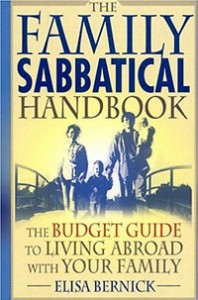 bookcover for The Family Sabbatical Handbook, family travel tips