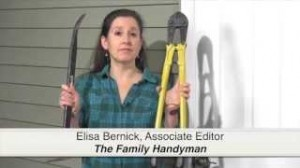 video capture of Elisa Bernick discussing home security tips